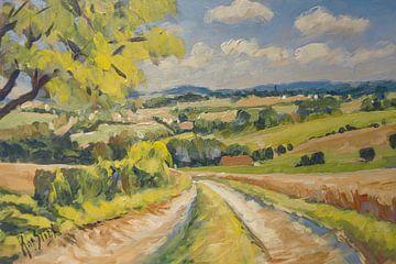 Landweg naar Mechelen sur