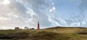 Landschap Vuurtoren op Texel