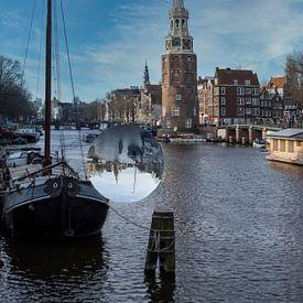 Montelbaanstoren Amsterdam van Foto Amsterdam / Peter Bartelings