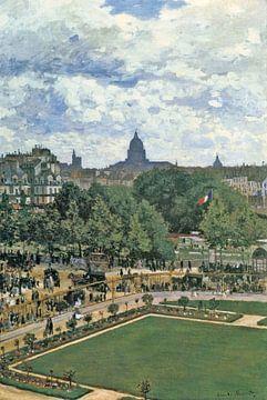 Jardin de la Princesse, Claude Monet sur