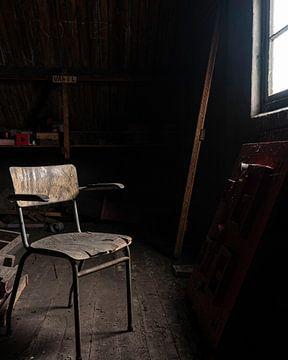Eenzame stoel von Jacco van der Giessen