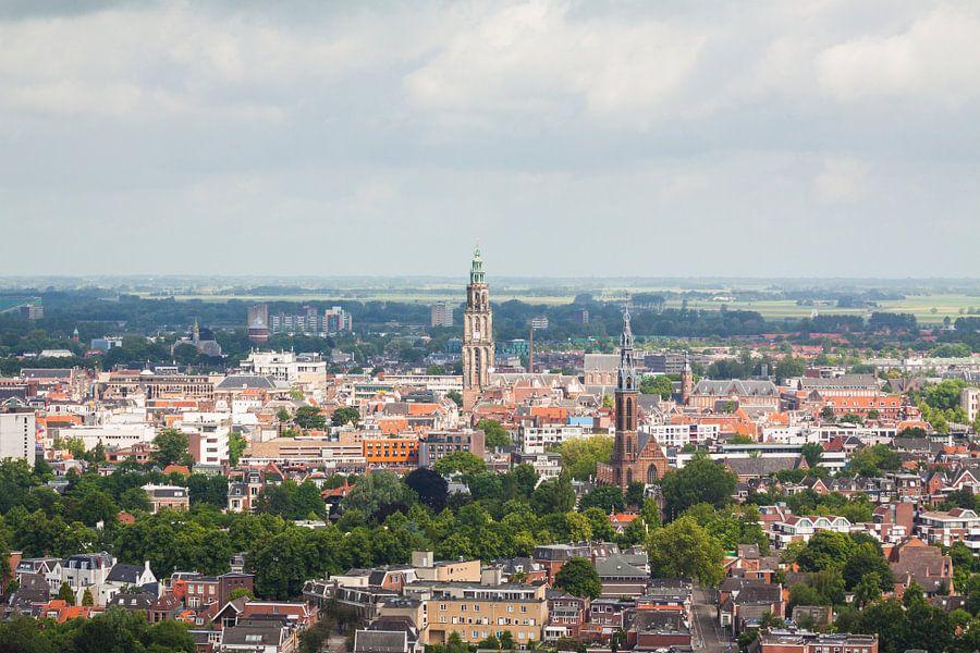 Uitzicht op Groningen