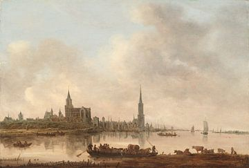 Blick auf Emmerich, Jan van Goyen