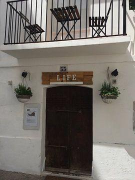 'Life' huis in Ibiza  van Tessel Robbertsen