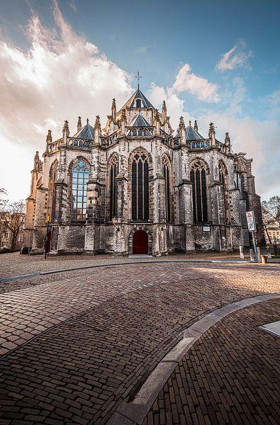 Grote Kerk of Onze-Lieve-Vrouwekerk Dordrecht van Danny van der Waal