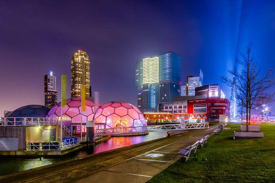 Het Drijvend Paviljoen Rotterdam Rijnhaven van Evert Buitendijk
