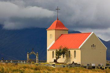 Kolbeinsstadir Kirche, Island von Henk Meijer Photography