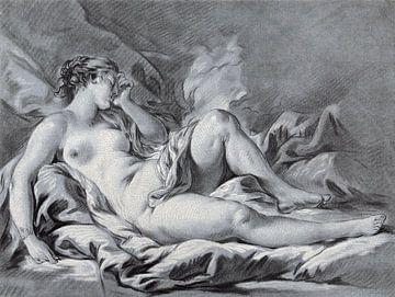 Schlafende Venus, Louis-Marin Bonnet, 1771 - 1772