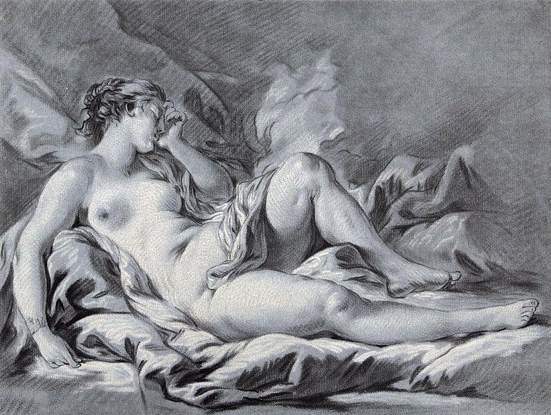 Schlafende Venus, Louis-Marin Bonnet, 1771 - 1772 von Atelier Liesjes