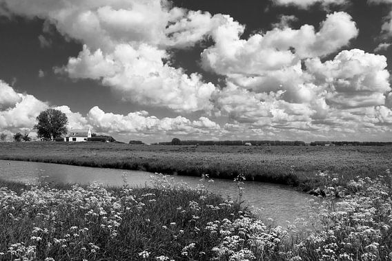 Zeeuwse wolkenlucht van Ellen Driesse