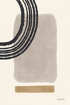 Geo abstract III neutraal roze, Becky Thorns van Wild Apple