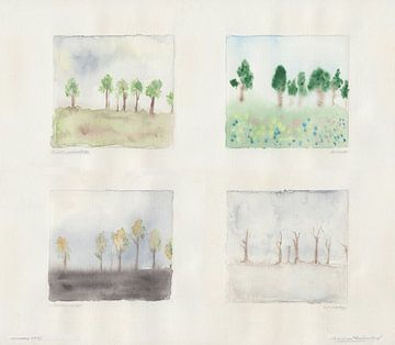 7 bomen in 4 seizoenen