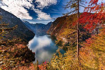 Königssee im Herbst von Dirk Rüter