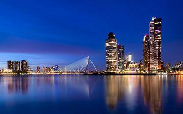 SKYLINE Rotterdam van Martijn Kort