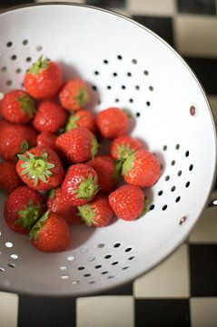 Zomer Aardbeien van Charlotte Meindersma