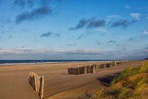 Een verlaten strand