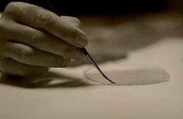 The hand of an artist van Petra Vermunt