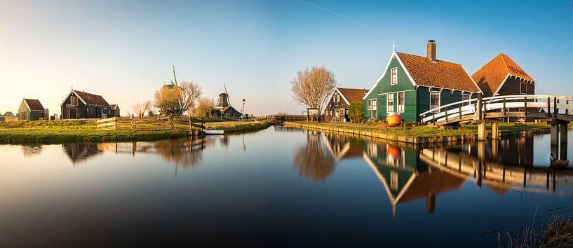 Zaanse Schans Panorama sur Edwin Mooijaart
