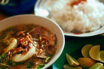 Soto ayam, Indonesische kippensoep met rijst van André van Bel