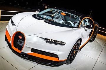 Bugatti Chiron Sport hypercar van Sjoerd van der Wal