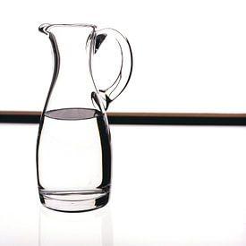 Glas op wit van Uschi Claes