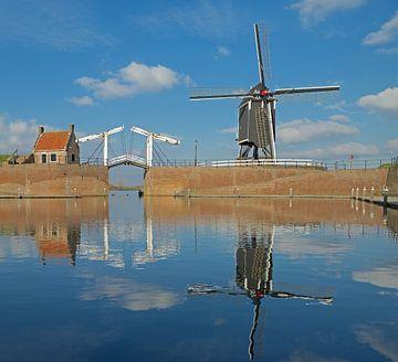 Blik op Heusden van Kneeke .com