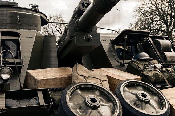 WW2 tank van Wilfred Roelofs