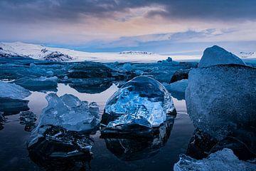 Eisblöcke von Leon Eikenaar