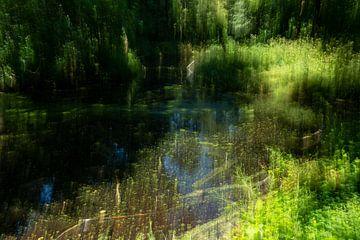 Bewegung einer Wasserlandschaft von Mandy Metz