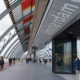 Centraal station Amsterdam van Eric de Kuijper
