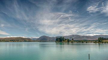 Lake Pukaki - Nieuw Zeeland van Arthur de Rijke