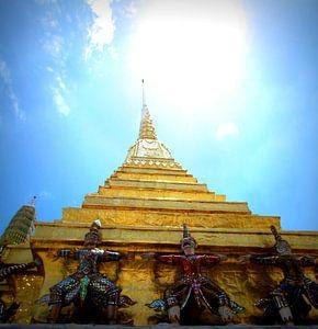 Tempel Thailand  van