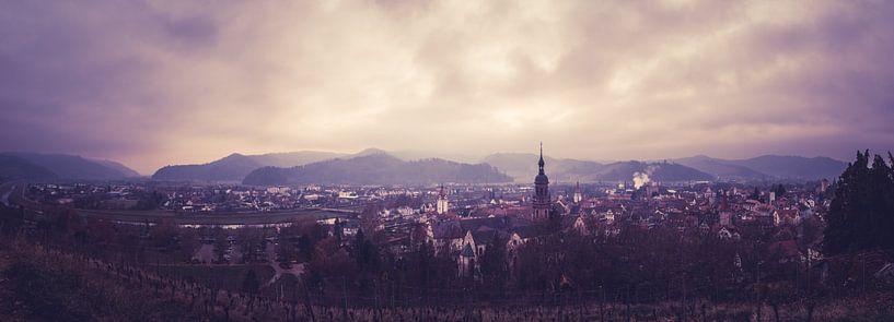 Skyline Gengenbach, Niederbayern, Deutschland von Natasja Tollenaar