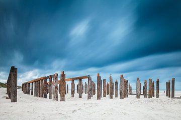 Palen en wolken van Menno Schaefer