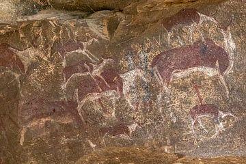 Felszeichnungen Buschmänner Südafrika