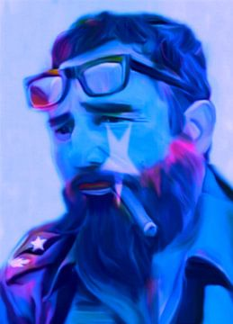 Fidel Castro Pop Art PUR sur Felix von Altersheim