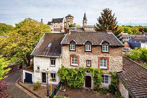 Kupferstadt Stolberg - Uitzicht op het kasteel van Rolf Schnepp