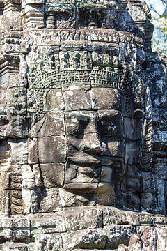 Buddha im Angkor Thom Tempel