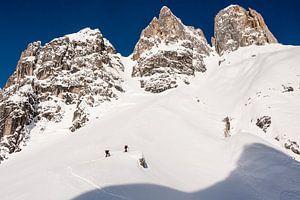 Skitour naar de Bischofsmütze