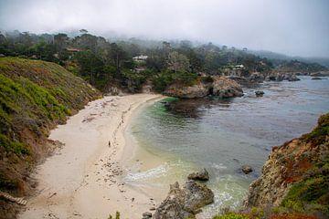 Gibson Beach in Carmel van