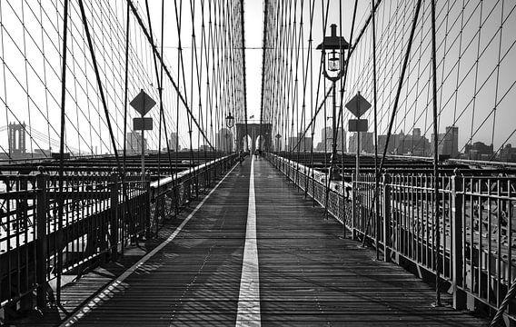 Brooklyn Bridge Pedestrian Walkway