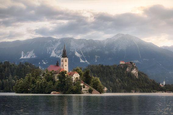 Het eilandje in Bled van Perry Wiertz