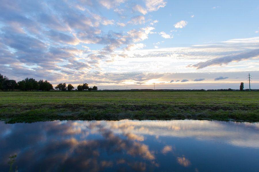 Nederlands Landschap van Sander Monster