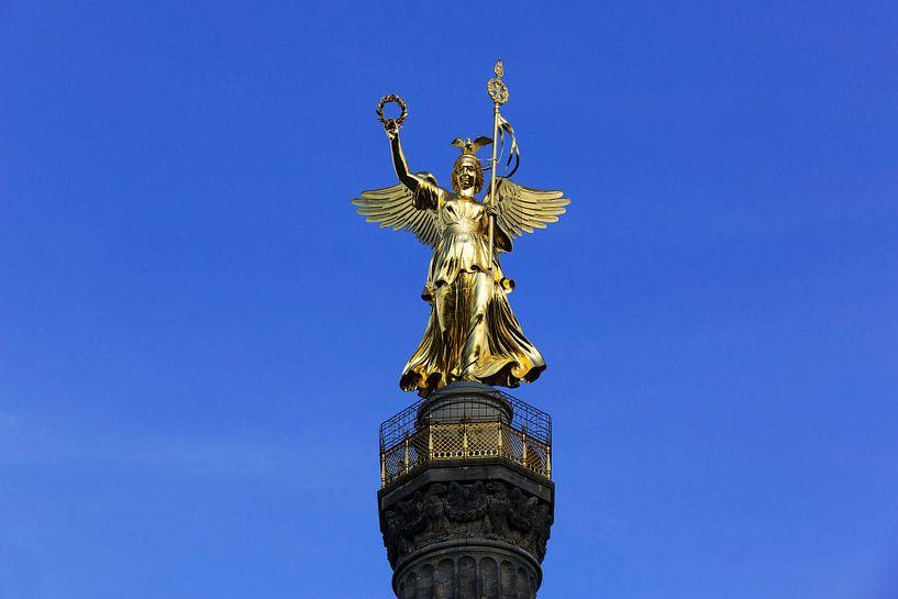 Le Goldelse sur la Siegessäule de Berlin sur Frank Herrmann
