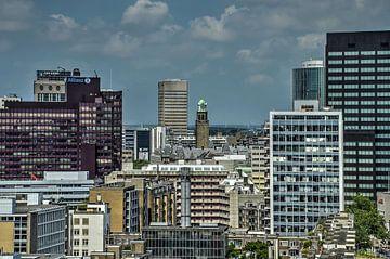 Rotterdam: stadhuis en buren van