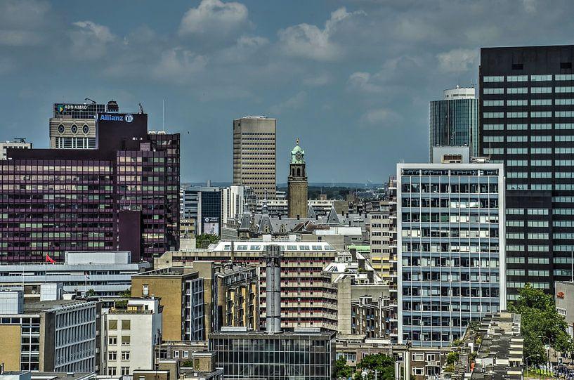 Rotterdam: Mairie et voisins sur Frans Blok