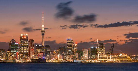 Zonsondergang Auckland, Nieuw Zeeland