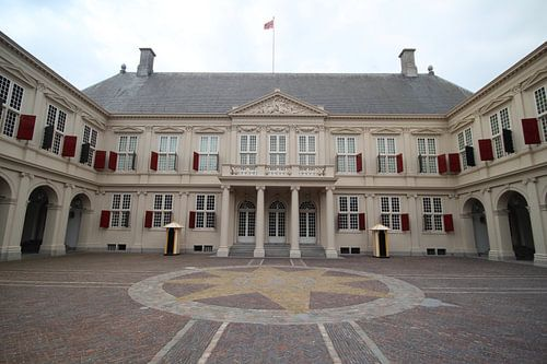 Paleis Noordeinde in Den Haag von