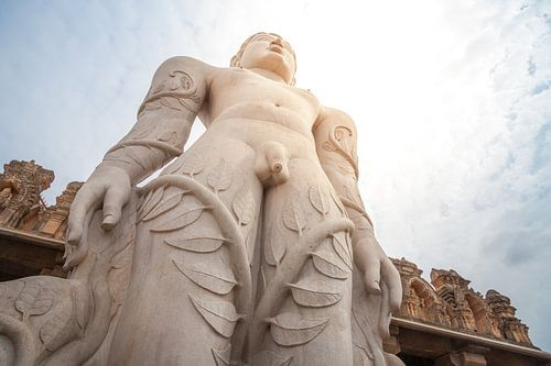 Bahubali Statue van