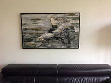 Klantfoto: Silence van Atelier Paint-Ing, op canvas